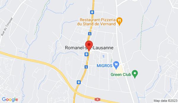 """Google map positionnant le bien Nouvelle construction """"Les fontaines"""" 3,5 pièces à partir de"""