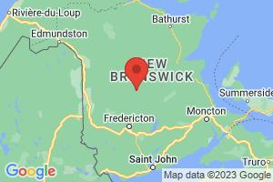 Map of New Brunswick