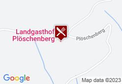 Landgasthof am Plöschenberg - Karte