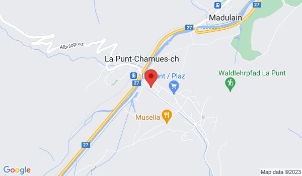 Location map House for sale, La Punt-Chamues-ch