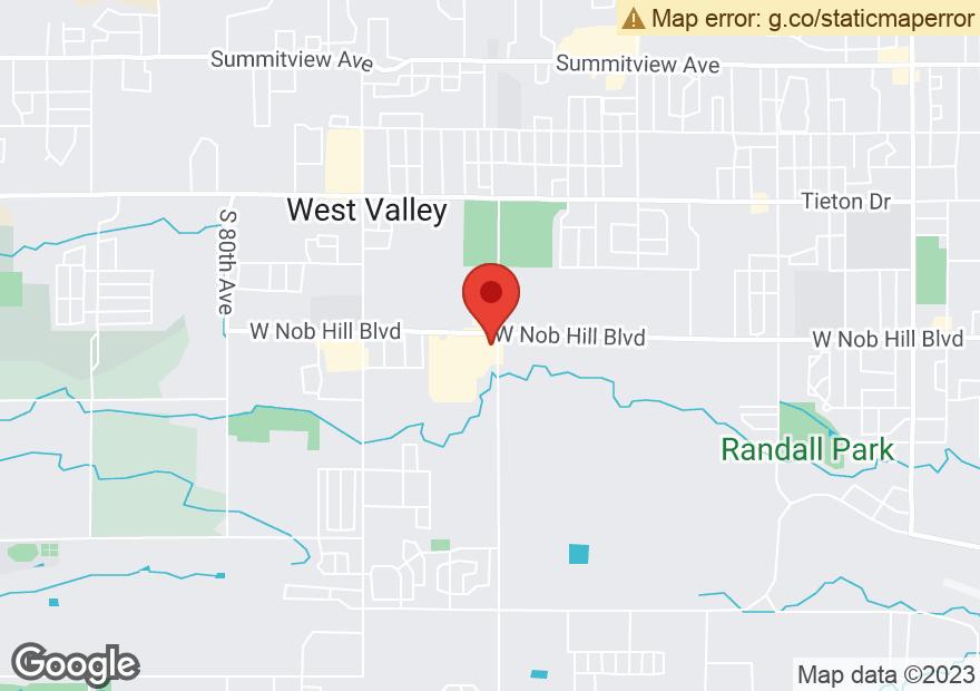 Google Map of 6400 W NOB HILL BLVD