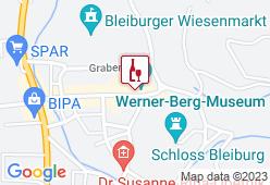 Werner Berg Geniesserei - Karte