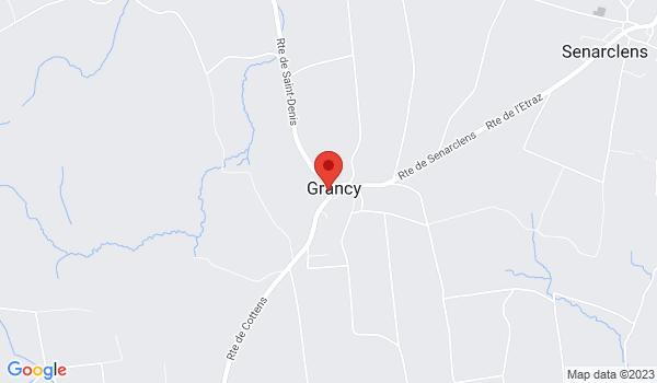 Google map positionnant le bien Splendide appartement en duplex d'env. 155m2 à Grancy