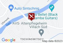 Brückenwirt Tschinowitsch - Karte