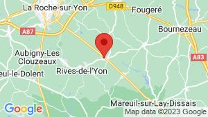 Carte de localisation du centre de contrôle technique SAINT FLORENT DES BOIS