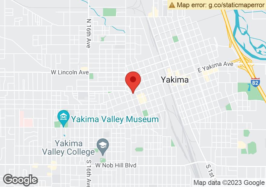 Google Map of 610 W YAKIMA AVE