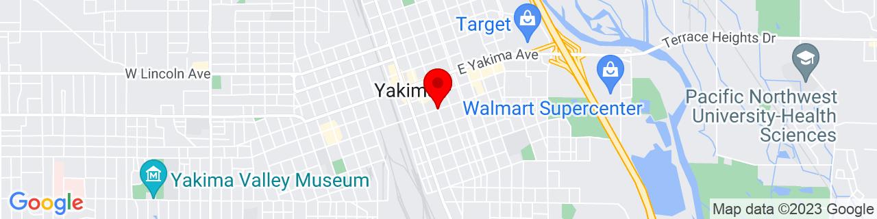 Google Map of 46.6003719, -120.5018985
