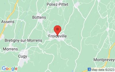 14, Froideville 39190 SAINTE AGNES