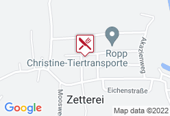 Gasthaus Ropp - Karte