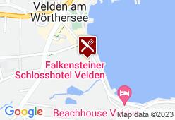 Schlossstern im Schlosshotel Velden - Karte