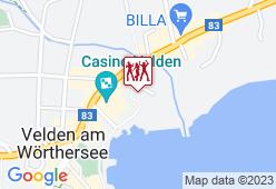 Landhaus am See Villa Bulfon - Karte