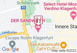 Vespa-Cafe Klagenfurt - Karte