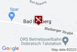 Bleibergerhof - Karte