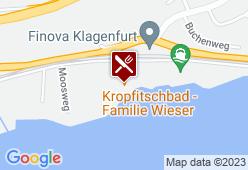 See-Restaurant Kropfitschbad - Karte