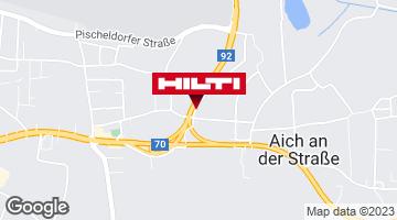 Wegbeschreibung zu Hilti Store Klagenfurt