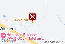 Gasthaus Zocklwirt - Karte