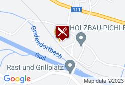 Landhof Lenzhofer - Karte