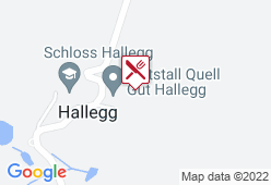 """Gasthaus """"Am Gut Hallegg"""" - Karte"""