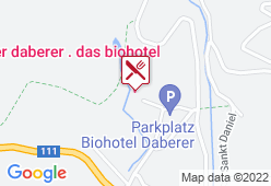 Biohotel Daberer GmbH - Karte