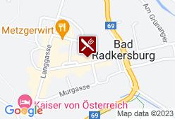 Das Altststadthaus - Karte