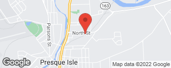 Map of 56 North St in Presque Isle