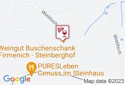STEINBERGHOF Weingut Firmenich - Karte