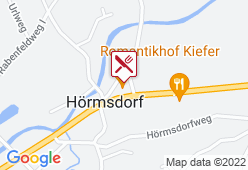 Romantikhof Kiefer - Karte