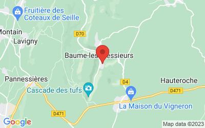 Rue En Villeneuve 39210 BAUME LES MESSIEURS