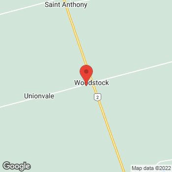 Map of Tim Hortons at 1037 Oleary Rd, O'leary, PE C0B 1V0