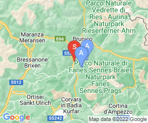 Karte für Albergo Gader