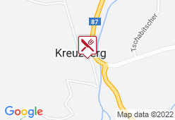 Hotel Kreuzwirt - Karte