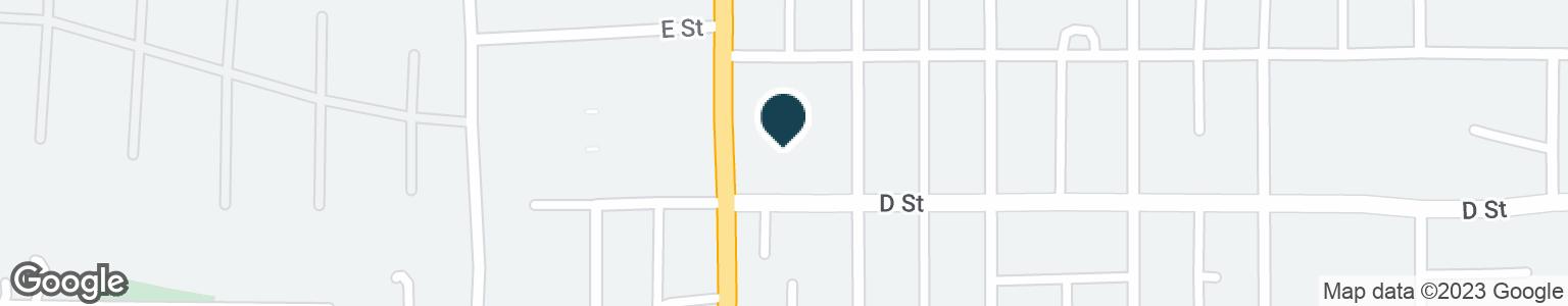 Google Map of414 N MAIN ST