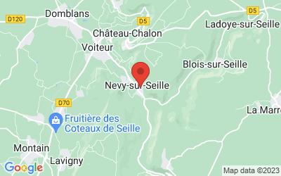 rue du  Château Guinand 39210 NEVY SUR SEILLE