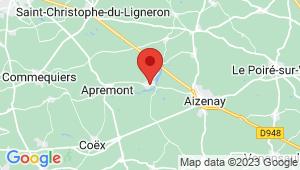 Carte de localisation du centre de contrôle technique MACHE