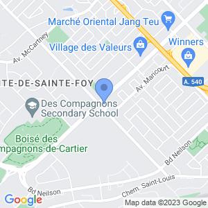 Dépanneur Provi-soir - Quatre-Bourgeois Map
