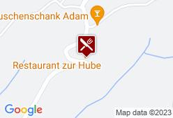 Zur Hube - Karte