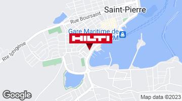 Get directions to Espace Hilti - Dom-Tom Girardin & Fils - Saint Pierre et Miquelon