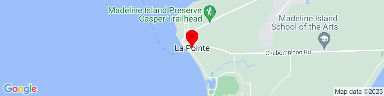 Google Map of 46.7792664, -90.78654120000002