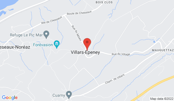 Location map House for sale, Villars-Epeney