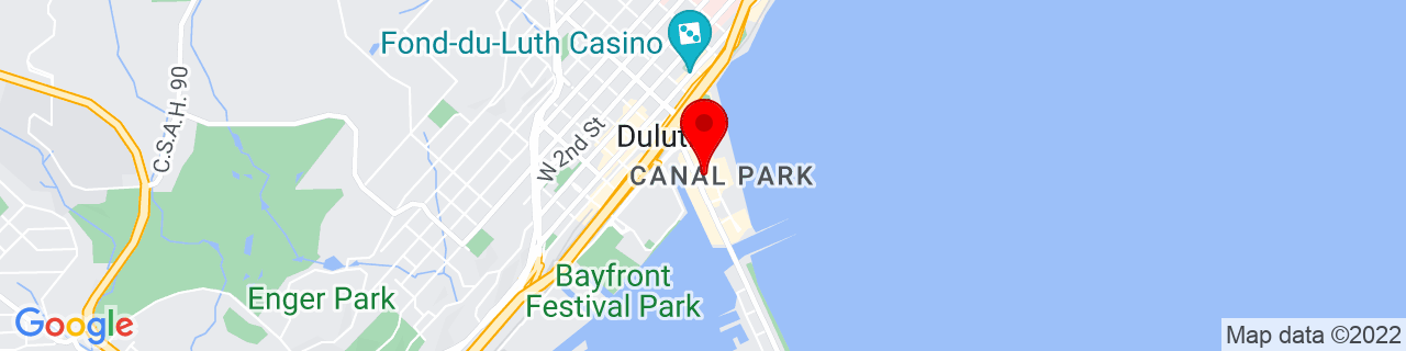 Google Map of 46.783164, -92.0950821