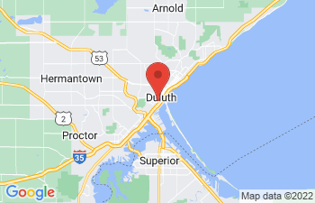 Map of Duluth
