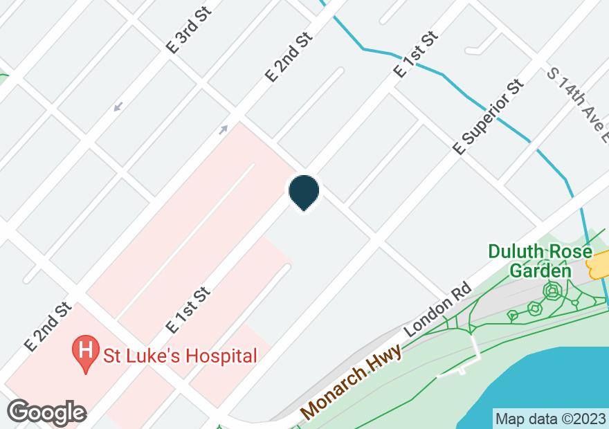Google Map of1131 E SUPERIOR ST