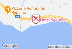 Hotel See-Villa - Karte