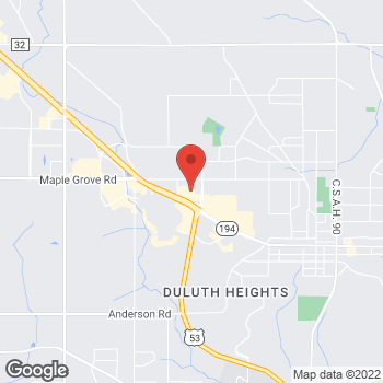 Map of Bed Bath & Beyond at 1303 Miller Trunk Highway, Duluth, MN 55811