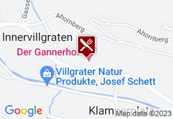 Der Gannerhof - Karte