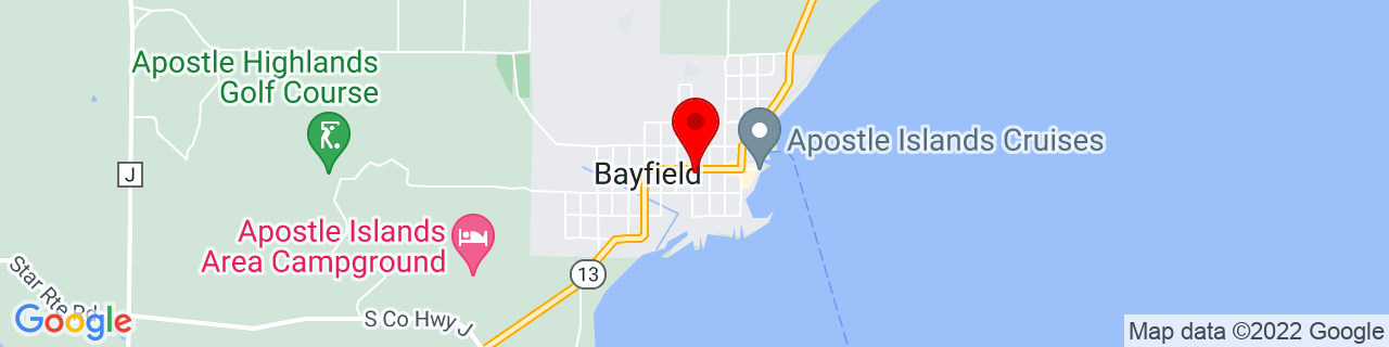 Google Map of 46.8107671, -90.81824