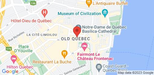 Directions to Café-Terrasse La Nouvelle-France