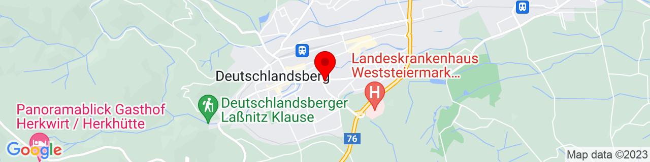 Google Map of 46.81528, 15.22222