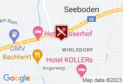 Gasthof Postwirt - Karte