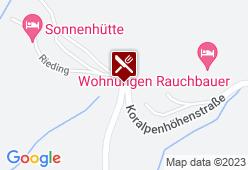 Alpengasthof Wolfgruber - Karte